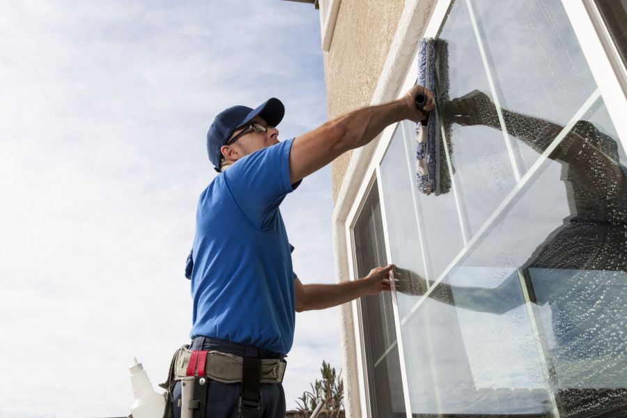 Commercial Window Cleaning by BCG Management