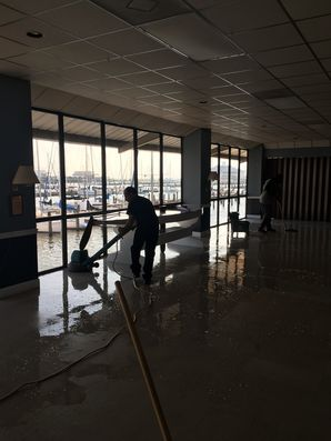 Strip & Wax Floors at New Orleans Yacht Club (1)